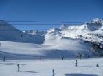 skijaši koji uče skijati