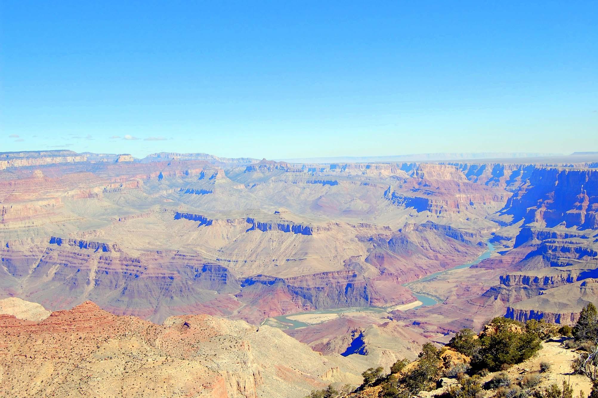 Desert View - Pogled na rijeku Colorado