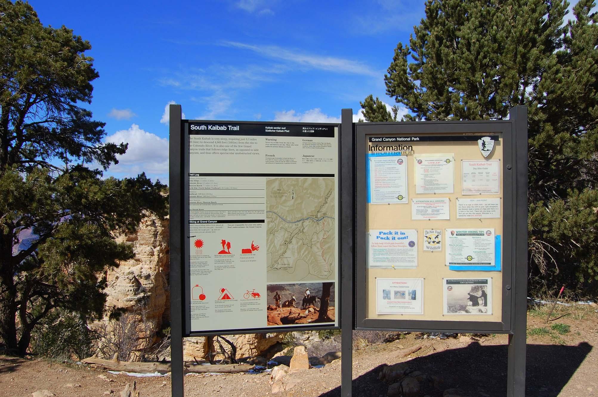 South Kaibab Trail Head