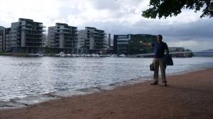 Drammen-pogled na 'Papirbredden'