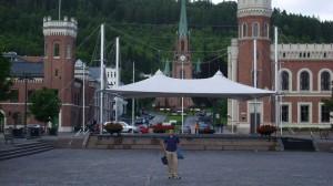 Drammen-trg i Bragernes crkva