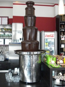 fontana od čokolade