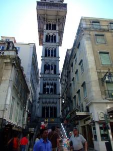 Eiffelovo dizalo, Lisabon