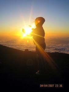 Haleakala Sunset Lea