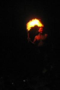 Luau Fire Knife