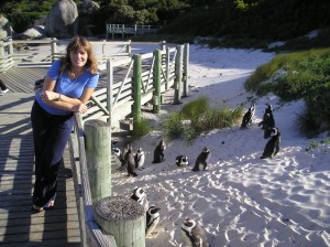Pogled na male pingvine