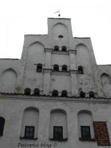 Jedna od tri kuće tri brata. primjer srednjovjekovne stambene zgrade u Rigi - tri zgrade koju su postavljene na veoma malom komadu zemlje