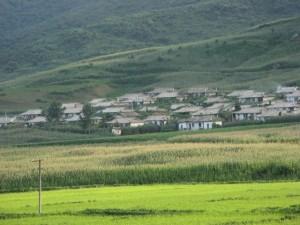 Selo iznad rižinih polja