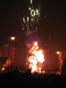 Vrhunac procesije - vatra 2