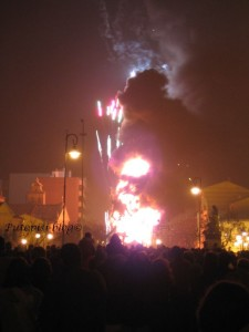 Vrhunac procesije - vatra