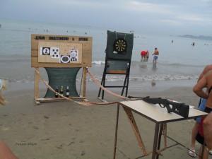 pikado na plaži i Draču