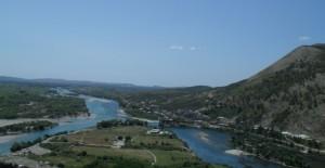 ušće rijeka Bojane i Drima u Jadransko more