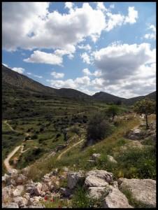 Panorama na putu za Nafplio 3