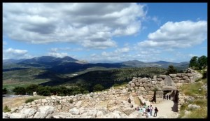 Panorama na putu za Nafplio 4