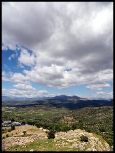 Panorama na putu za Nafplio