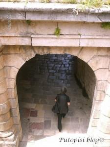 Bočni ulaz u stari grad