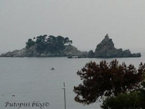 Pogled iz hotela Jadran, Petrovac