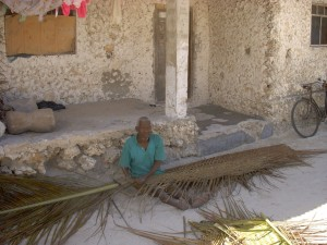 djed plete palmine grane za krov