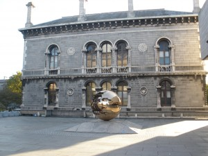 Trinity College nova knjižnica
