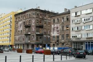 Neobična pročelja Varšave