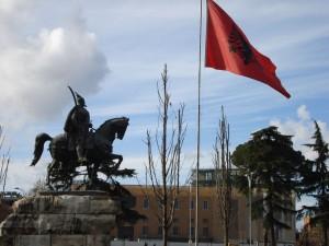 Spomenik Skender begu