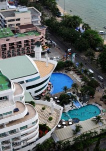 Beach Hotel View