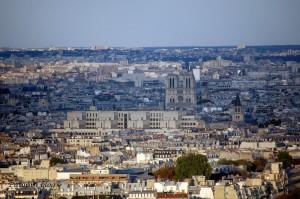 Eiffel Tower - Notre Dame