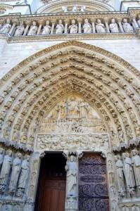 Notre Dame - Door