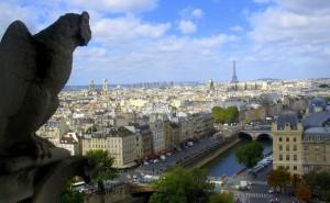 Notre Dame - Gargoyle View