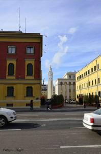 Pravoslavna crkva u daljini