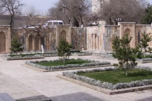 Vrt ispred mauzoleja