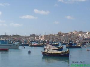 Ribarske brodice u Marsaxlokku