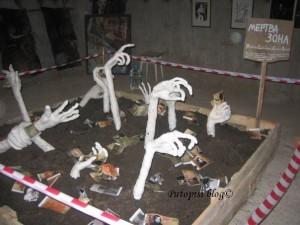 Gogolj fest - instalacija Mrtva zona