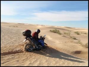Ovdje je pijesak malo dublji