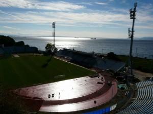 Stadion NK Rijeka, kapacitet 15. tisuća ljudi kapacitet