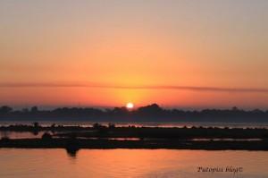 Zalaz sunca na Nilu