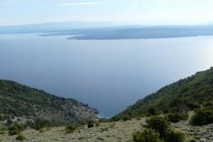Pogled s sjeverne strane Cresa