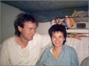 Vlado i Mladenka u kupeu Beth i Georga