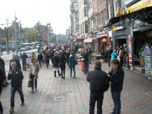 Damrak - glavna amsterdamska ulica