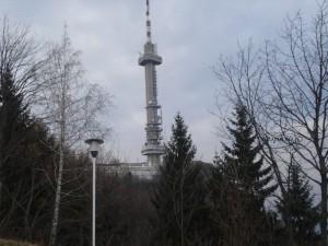 Televizijski odasiljač u parku Vitoša, relikt socijalizma
