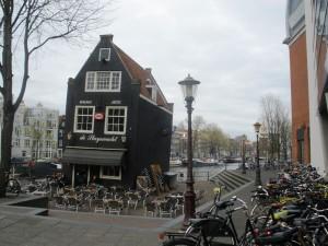 stari kafić ispred Rembrandtove kuće