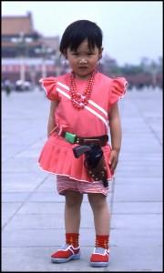 Naoružana djevojčica