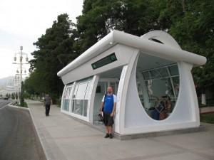 Busna stanica s klima uređajem
