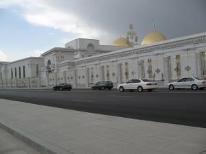 Predsjednicka palaca, slikati samo iz auta