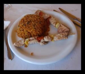 Ražnjići sa rižom