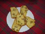 Dubrovački božićni kruh s maslinama