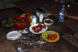 Večera na otvorenom