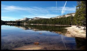 Jezero u Yosemite NP