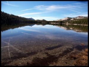 Jezero u Yosemite NP 4