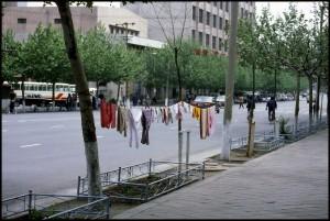 Sigurno sušenje robe u središtu grada Daliana